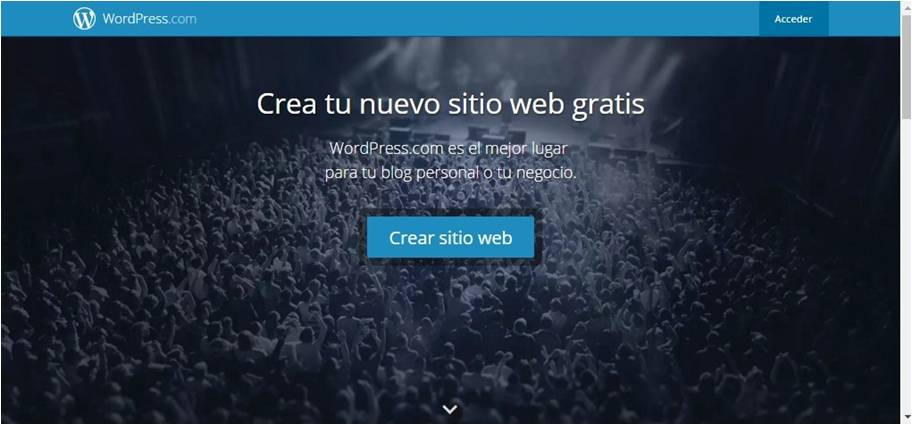 wordpress blogs, como crear un blog